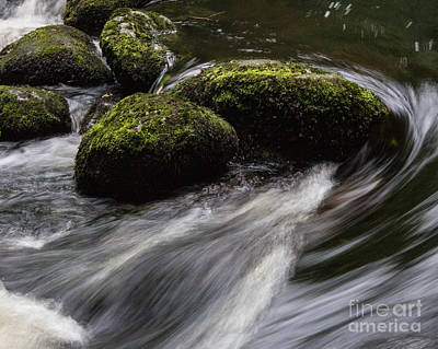 Aira Force Wall Art - Photograph - Water Swirl by Kathryn Bell