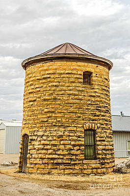 Photograph - Water Tower And Jail by Sue Smith