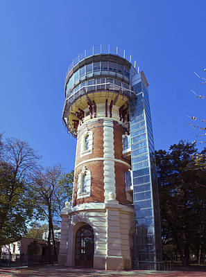 Photograph - Water Tower In Iasi - Romania by Vlad Baciu