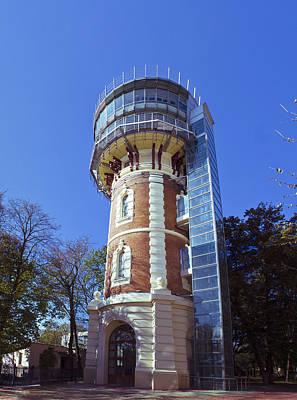 Photograph - Water Tower In Iasi - Romania by Vlad Baciu