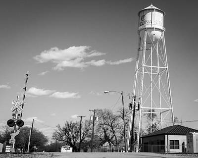 Photograph - Water Tower by Jeff Mize