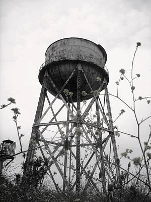 Water Tower Print by Michael Grubb