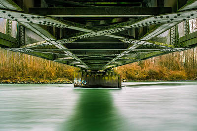 Photograph - Water Under The Bridge by Brad Koop