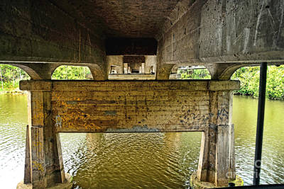 Photograph - Water Under The Bridge By Kaye Menner by Kaye Menner