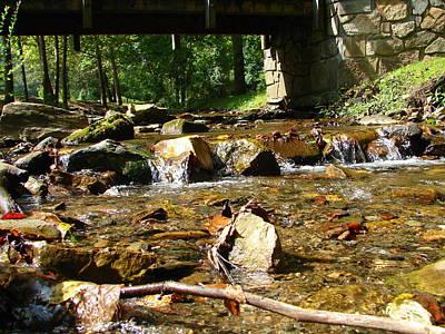 Photograph - Water Under The Bridge by Lew Davis