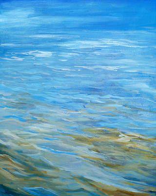 Painting - Water Universe by Denise Ivey Telep