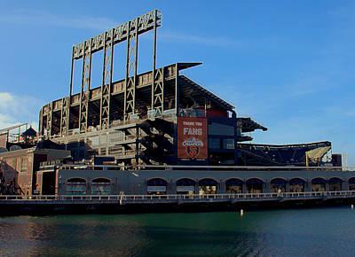 Water View Of Giants Stadium Original