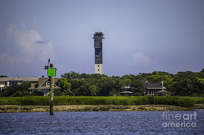 Photograph - Water View Of Sulliva's Island Lighthouse by Dale Powell