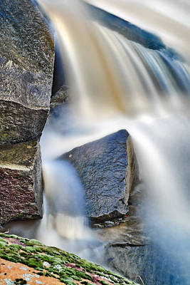 Photograph - Water Vs Stone by Patrick M Lynch