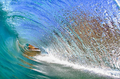 Surfing Photograph - Water Wall by Gregg  Daniels