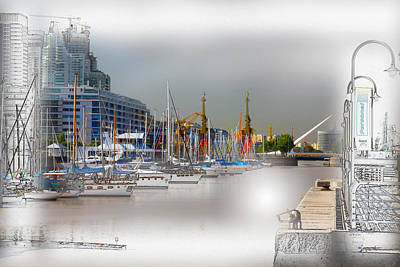 Water Way Buenos Aires Art Print by Diane Dugas