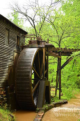Photograph - Water Wheel by Bob Sample