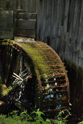 Photograph - Water Wheel by Coby Cooper