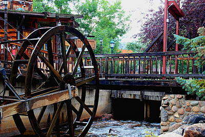 Photograph - Water Wheel by Trent Mallett