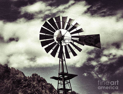 Photograph - Water Windmill by Patricia Januszkiewicz