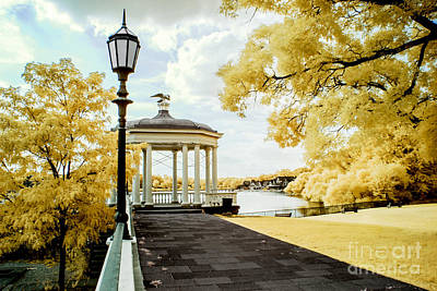 Water Works And Boathouse Row Art Print