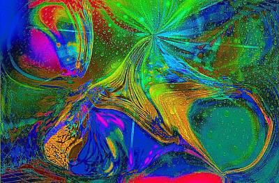 Etc. Digital Art - Water World by HollyWood Creation By linda zanini