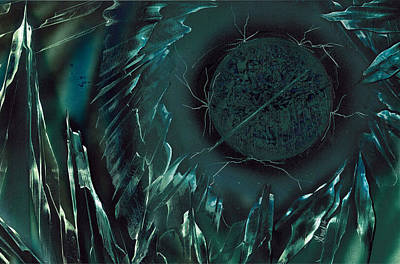 Painting - Waterborne Pathogen by Jason Girard