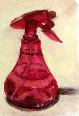 Waterbottle Art Print by Donna Lee Hayes