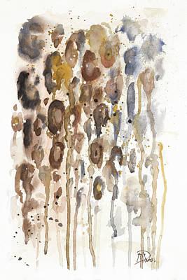 Cheetah Digital Art - Watercolor Animal Skin I by Patricia Pinto
