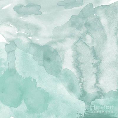 Water Digital Art - Watercolor Background. Digital Art by Evart