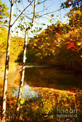 Watercolor Pond Original