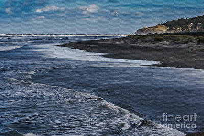 Photograph - Watercolor View Of Benson Beach by Robert Bales