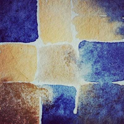 Abstract Wall Art - Photograph - Watercolour  by Nic Squirrell