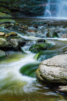 Photograph - Waterdown Cascade by Anthony Rego