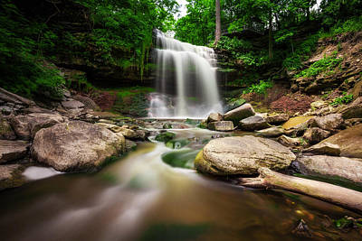 Photograph - Waterdown Falls - 01 by Anthony Rego