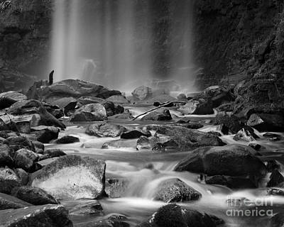 Photograph - Waterfall 08 by Colin and Linda McKie