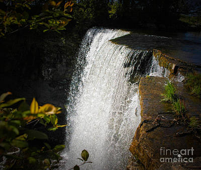 Photograph - Waterfall 2 by Ronald Grogan
