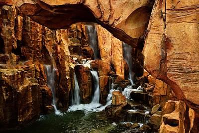 Water Droplets Sharon Johnstone - Waterfall 3 by Richard Zentner
