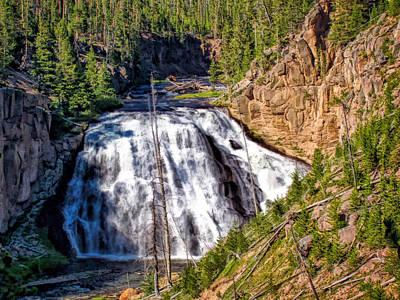 Photograph - Waterfall 7 by Dawn Eshelman