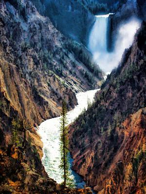Photograph - Waterfall 8 by Dawn Eshelman
