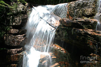 Photograph - Waterfall by LR Photography