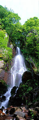 Alsace Photograph - Waterfall Alsace France by Panoramic Images