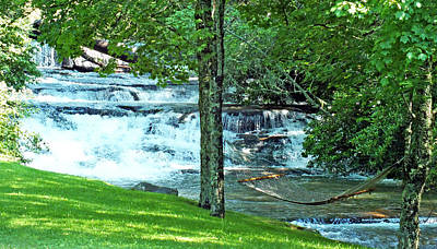 Photograph - Waterfall And Hammock In Summer 2 by Duane McCullough