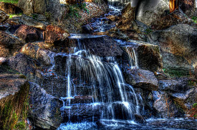 Mellow Yellow - Waterfall by Andy Lawless