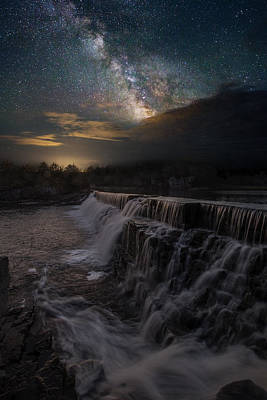 Photograph - Waterfall Dreamscape by Aaron J Groen