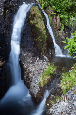 Waterfall Glen Etive Art Print