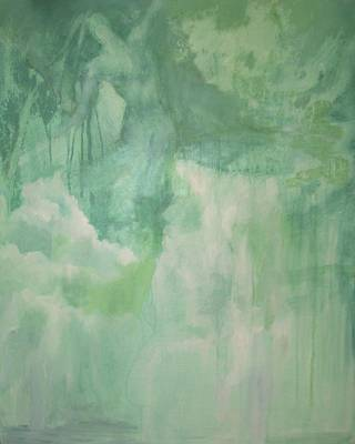 Painting - Waterfall Goddess by Teresa Leigh Ander