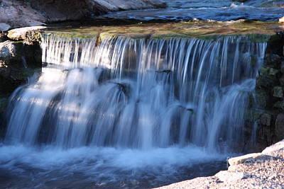 Photograph - Waterfall by Gunter Nezhoda