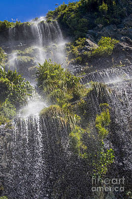 Photograph - Waterfall In Doubtful Sound by Patricia Hofmeester