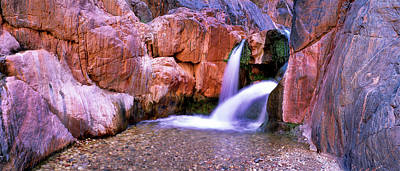Grand Canyon Photograph - Waterfall In Grand Canyon National by Panoramic Images