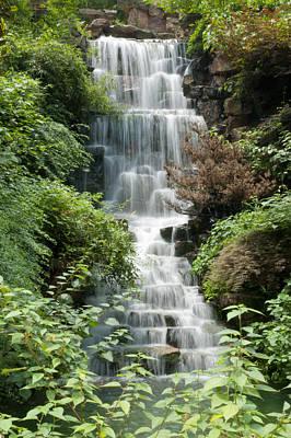 Photograph - Waterfall In Hangzhou China by Rob Huntley