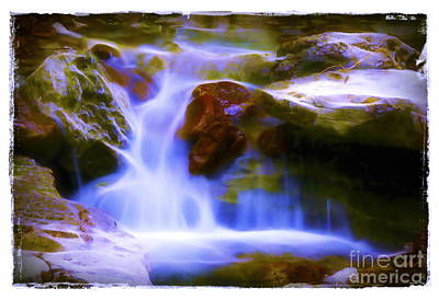 Photograph - Waterfall In Lost Valley by Judi Bagwell