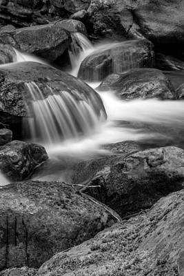 Photograph - Waterfall In Mount Rainier National Park by Bob Noble