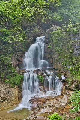 Anhui Photograph - Waterfall In The Yellow Mountains by Darrell Gulin