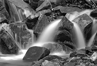 James Taylor Photograph - Waterfall by James Taylor